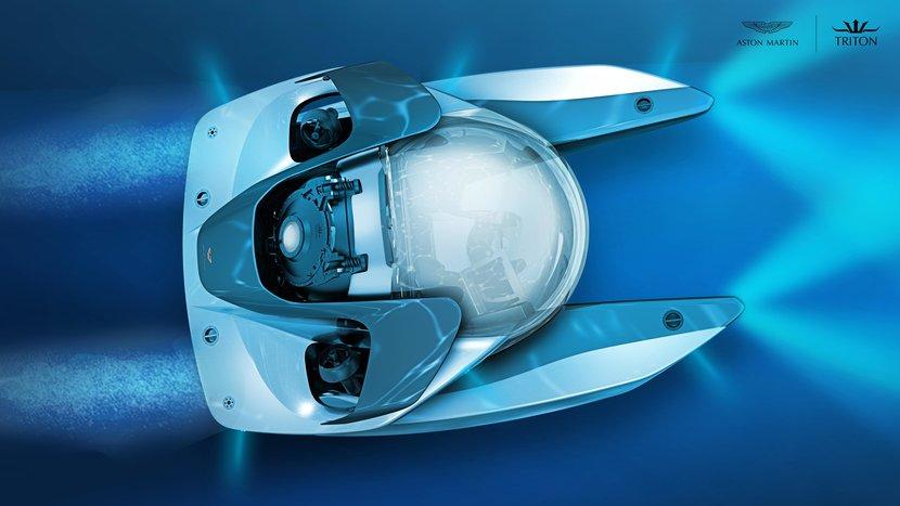 Aston Martin, Triton Submarines, James Bond, Aston Martin makes submarines now, Project Neptune, Limited edition